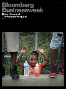 sja deception blog Ferguson Hands Up meme in BusinessWeek magazine 140826 o-BUSINESSWEEK-570