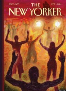 sja deception blog Ferguson Hands Up meme in New Yorker magazine 140826  o-NEW-YORKER-570