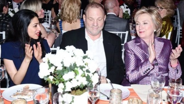 Bill And Hillary Were Weinstein's 'Celebrity Shields'