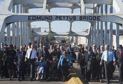 sja Bush in picture at Selma 150309