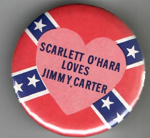 sja Jimmy Carter button with Confederate flag 150622