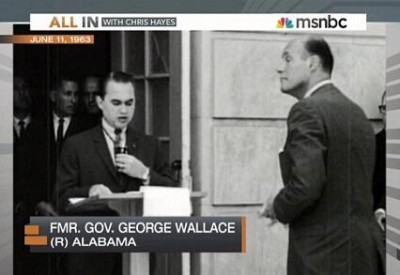 sja deception MSNBC identifies George Wallace as a Republican 130612