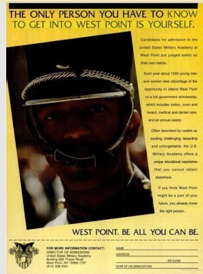 sja deception blog West Point ad in Black Enterprise 151109